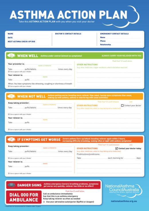 Nac Asthma Action Plan 2015 Web Colour 1