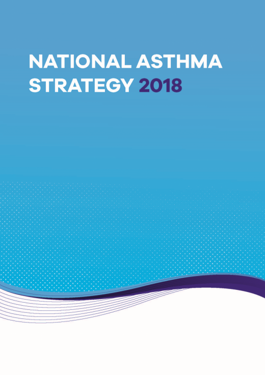 National Asthma Strategy 2018 Cover Image