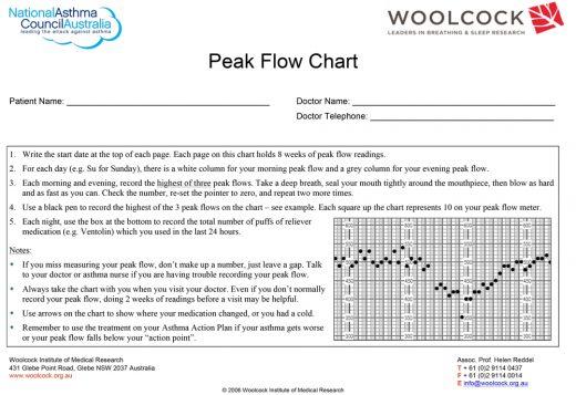 Woolcock Peak Flow Chart Updated 1
