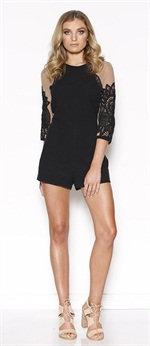 36456  Fleeting Playsuit