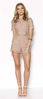 36438  Lush Lace Playsuit