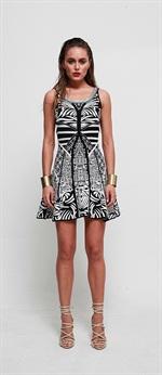 34419  Wild Knit Dress