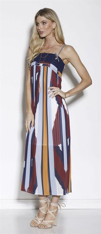 37190  Mosaic Muse Pleated Max