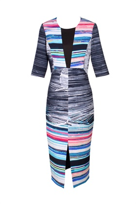 1Love Lines Dress with