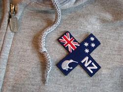 IDS1  NZ Kiwi Cross Badge