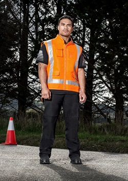 ZJ356 TTMC-W Fleece Lined Vest