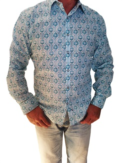 Aqua-LS  Aqua Long Sleeve Shir