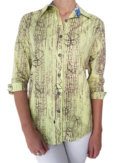 Moss-L34  Moss ¾ Sleeve Ladies