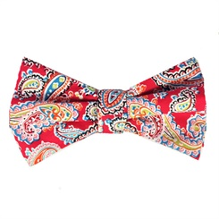 Ruby-BT  Ruby Bow Tie and Pock