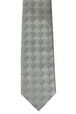 41324-7NRC  Silver Diamond Tie