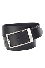 SFB2087/35  Silver Buckle Belt