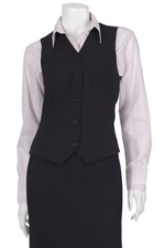 16297-001  5 Button Vest with