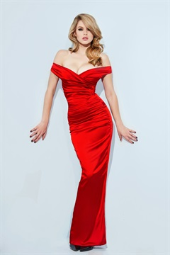 01.DR-HW15D002-RED  SATIN MANT