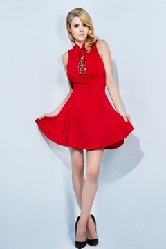 01.DR-S16D003-RED  TIGHT ROPE