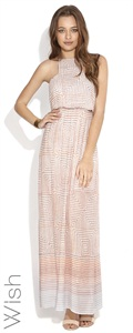 Wish    Horizon Maxi Dress