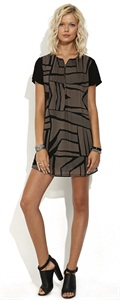 Wish   Trapeze Dress
