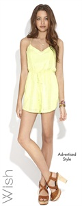 Wish   Charmed Playsuit
