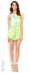 Wish Prismatic Playsuit