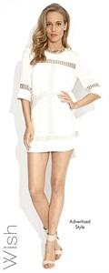 56094.4116  Alena Shift Dress