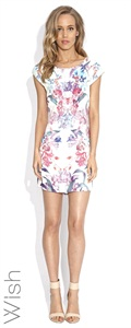 56183.4257  Orchid Shift Dress