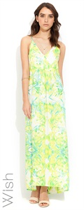 Wish  Prismatic Maxi Dress
