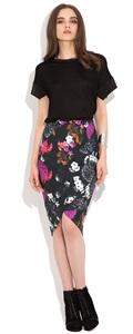 2123.4461  Fuchsia Skirt
