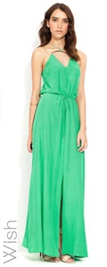 Wish  Rejoice Maxi Dress