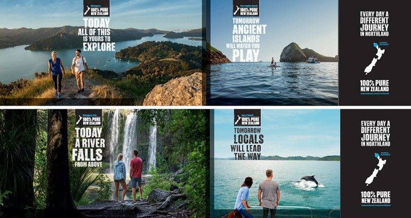 Campaign hub and landing page on newzealand.com/au