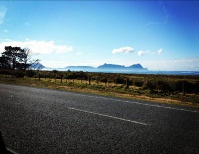 Bream Bay looking towards Whangarei Heads