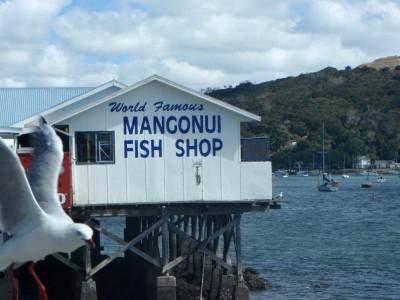 Famous Mangonui Fish Shop