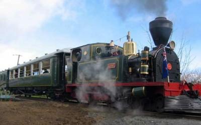 Take a ride on Gabriel! Bay of Islands Vintage Railway