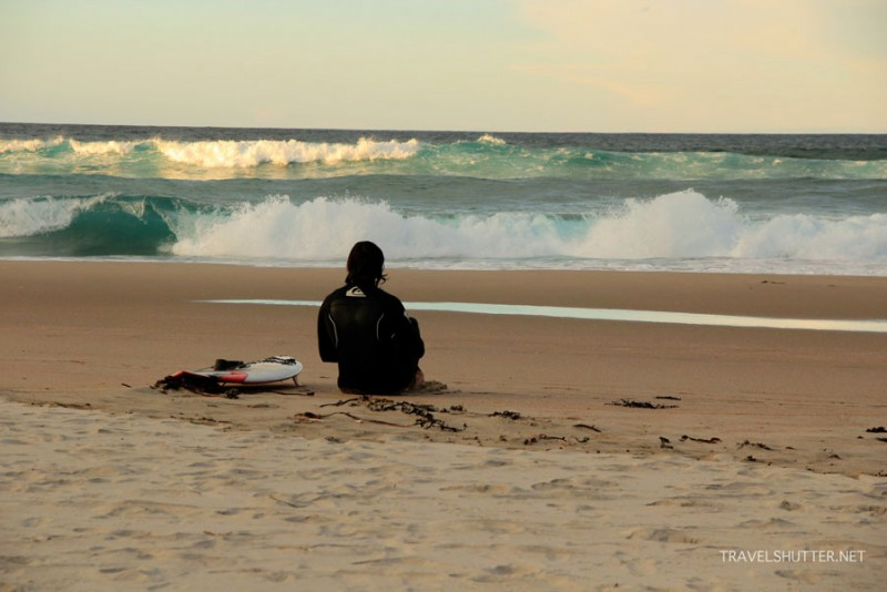 Ocean Beach Surfer. Credit: www.travelshutter.net