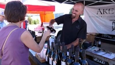 Winetasting, Bay of Islands Farmers Market