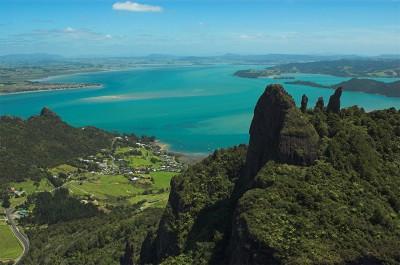 Mt Manaia and Whangarei Harbour
