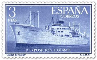 Spain 1956 Aug 3 1