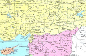 Turkey syria lebanon cyprus map 1949 philatelic database turkey syria lebanon cyprus map 1949 philatelic database gumiabroncs Choice Image