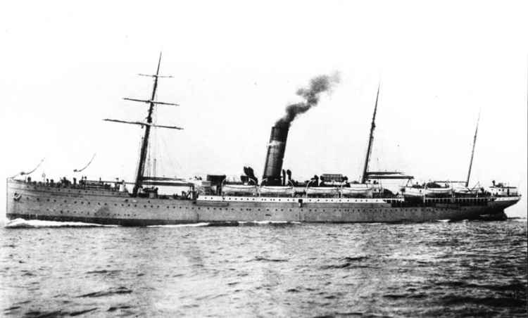 South Africa to England Ocean Mail Services (1876-1934)