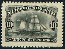 Ships on Stamps: Newfoundland (1887)