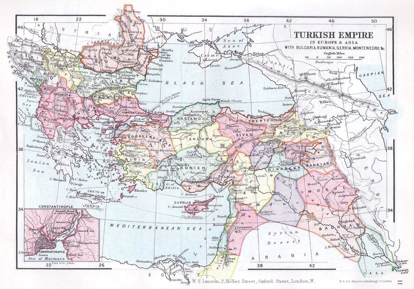And the Ottoman Empire is Turkey