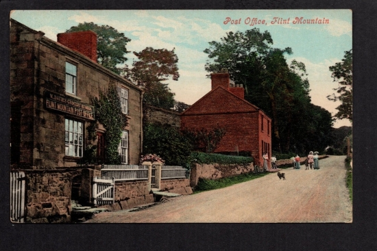 Post offices of wales flint mountain 1908 philatelic database - Great britain post office ...