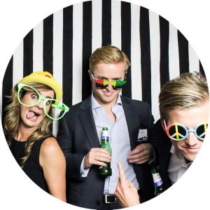 Photo Booth Fun at Corporate Event