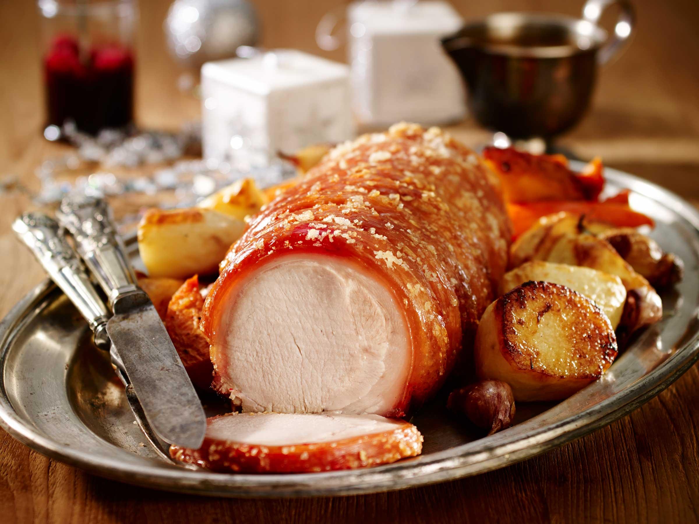 Ham With Crackling Recipe