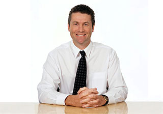 corporate portrait white background