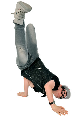 hip hop male studio photograph