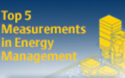 Emerson top 5 measurements in energy management