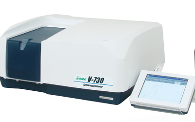 Jasco V-730 UV-VIS Spectrophotometer