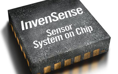 InvenSense MPU-6555 6-axis motion sensor for wrist-worn devices