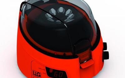 LLG uniCFUGE 3 mini centrifuge with timer and digital display