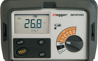 Megger DET4TCR2 4-pole earth tester kit