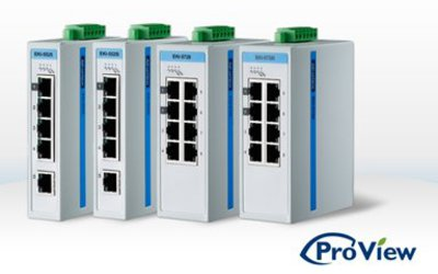 Advantech ProView SCADA manageable series switches